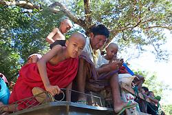 Local Transportation Near Shwezigon Pagoda