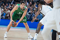 Unicaja Carlos Suarez during Turkish Airlines Euroleague match between Real Madrid and Unicaja at Wizink Center in Madrid, Spain. November 16, 2017. (ALTERPHOTOS/Borja B.Hojas)