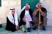 Israel - Jerusalem - Esplanade des mosquées -Arabes israelien