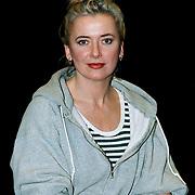 Doris Baaten tijdens interview musical Closer than Ever
