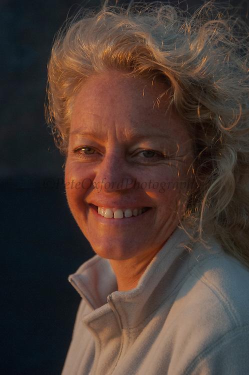 Renee Bish<br /> Fernandina Island. GALAPAGOS, ECUADOR
