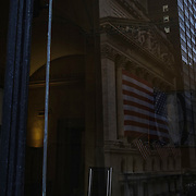 Wall Street in Lower Manhattan on Monday, September 21, 2020. John Taggart for The New York Times