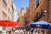 New York City: Cafes on Stone Street