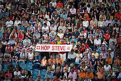 Supporters of Steve Guerdat (SUI)<br /> Olympic Games London 2012<br /> © Dirk Caremans