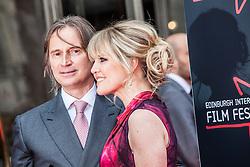 "Robert Carlyle and Ashley Jensen. Opening Night Gala and World Premiere of ""The Legend of Barney Thompson"", Edinburgh International Film Festival 17 - 28 June 2015."