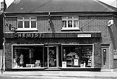 1967 - Interior and exterior of Freynes and Co. Ltd. Chemist, Clondalkin