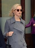 Jennifer Lawrence leaves hotel