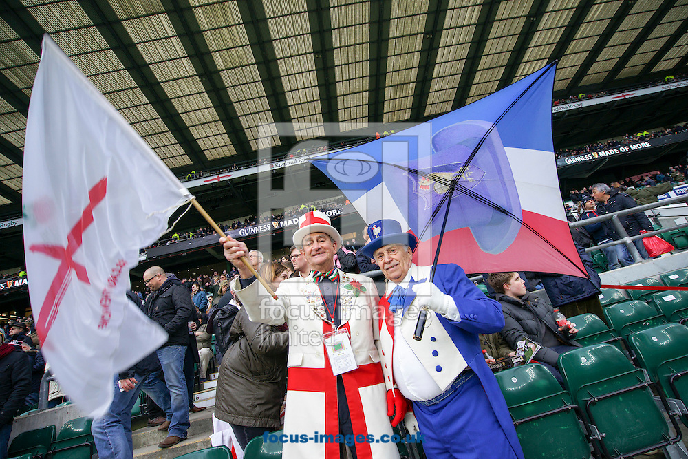 England and France mascots looks on before the RBS 6 Nations match at Twickenham Stadium, Twickenham<br /> Picture by Andrew Tobin/Focus Images Ltd +44 7710 761829<br /> 21/03/2015