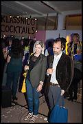 ELIZABETH PRICE; MIKE NELSON, Matt's Gallery 35th birthday fundraising supper.  42-44 Copperfield Road, London E3 4RR. 12 June 2014.
