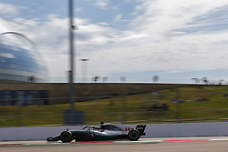 September 28, 2018 - Sochi, Russia - Motorsports: FIA Formula One World Championship 2018, Grand Prix of Russia, .#44 Lewis Hamilton (GBR, Mercedes AMG Petronas Motorsport) (Credit Image: © Hoch Zwei via ZUMA Wire)