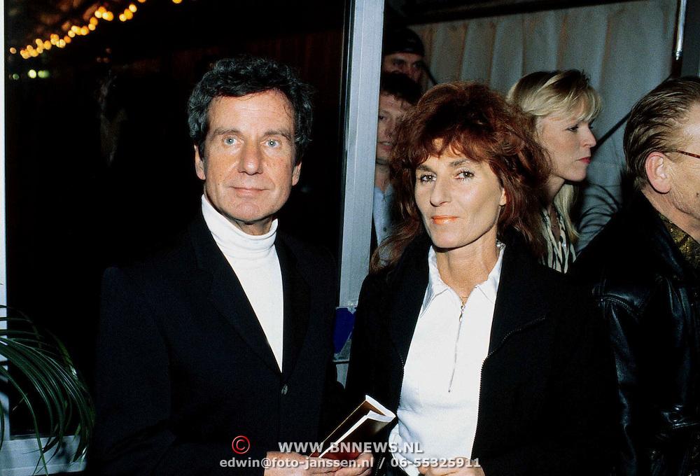 Nieuwjaarsreceptie Strengholt 1997, Fred Emmer + vrouw