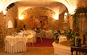 The gourmet Restaurant Le Jardin d'Ausone in the old town in Bordeaux