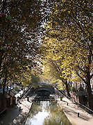 Canal Saint Martin, Paris, France