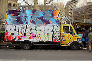 Paris Graffiti Trucks