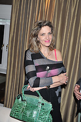 MARTHA FIENNES at The Great Initiative event in association with jewellers Boodles held at The Corinthia Hotel, London on 6th November 2012.