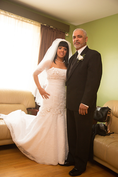 Vanessa Collazo and Christopher Pastorino are wed at In The Light Ministries in Lancaster, PA.