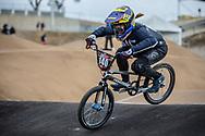 #140 (RIDENOUR Payton) USA at Round 3 of the 2020 UCI BMX Supercross World Cup in Bathurst, Australia.