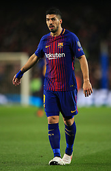 Luis Suarez of Barcelona - Mandatory by-line: Matt McNulty/JMP - 14/03/2018 - FOOTBALL - Camp Nou - Barcelona, Catalonia - Barcelona v Chelsea - UEFA Champions League - Round of 16 Second Leg