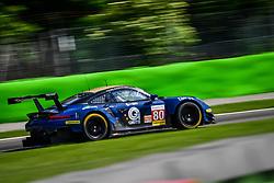 May 13, 2018 - Monza, Italie - 80 EBIMOTORS (ITA) PORSCHE 911 RSR GTE FABIO BABINI (ITA) RICCARDO PERA (ITA) RAYMON NARAC  (Credit Image: © Panoramic via ZUMA Press)