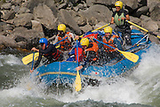 Whitewater river running expedition, Kameng River, Arunachal Pradesh, India. (This expedition was a first commercial descent.)