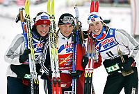 ◊Copyright:<br />GEPA pictures<br />◊Photographer:<br />Mario Kneisl<br />◊Name:<br />Tchepalova<br />◊Rubric:<br />Sport<br />◊Type:<br />Ski nordisch, Nordische Kombination<br />◊Event:<br />FIS Nordische SKI-Weltmeisterschaft, WM 2005, 15 km Verfolgung, Damen<br />◊Site:<br />Oberstdorf, Deutschland<br />◊Date:<br />19/02/05<br />◊Description:<br />Marit Bjoergen (NOR), Julija Tchepalova (RUS), Kristin Steira (NOR)<br />◊Archive:<br />DCSKN-1902054308<br />◊RegDate:<br />19.02.2005<br />◊Note:<br />8 MB - SU/SU - Nutzungshinweis: Es gelten unsere Allgemeinen Geschaeftsbedingungen (AGB) bzw. Sondervereinbarungen in schriftlicher Form. Die AGB finden Sie auf www.GEPA-pictures.com.<br />Use of picture only according to written agreements or to our business terms as shown on our website www.GEPA-pictures.com.