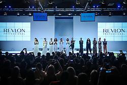 Show Revlon Professional na  Hair Brasil - 13ª Feira Internacional de Beleza, Cabelos e Estética, que acontece de 12 a 15 de abril de 2014 das 10h às 20 horas nos Pavilhões do Expo Center Norte. FOTO: Jefferson Bernardes/ Agência Preview