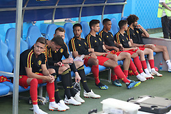 June 18, 2018 - Sochi, Russia - June 18, 2018, Russia, Sochi, FIFA World Cup 2018, First round, Group G, First round, Belgium vs Panama at Fisch Stadium. Belgium - Panama. Player of the national team (Credit Image: © Russian Look via ZUMA Wire)