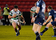 Newcastle Falcons flanker John Hardie during a Gallagher Premiership Round 12 Rugby Union match, Friday, Mar 05, 2021, in Eccles, United Kingdom. (Steve Flynn/Image of Sport)