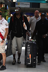 Usain Bolt arrives at CPT International - 26 Jan 2018