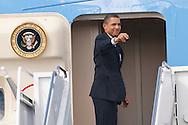 Photograph of President Barack Obama visit to New Orleans on October 10, 2009.