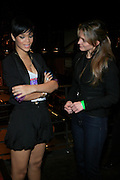 """Rihanna and Katerina Harf of DKMF at The Island Def Jam & Escada Moon Sparkle Present """" A Girls Night Out """" in support of Rihanna's Believe Foundation held at The Highline Ballroom on April 9, 2008"""