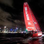 © Maria Muina I MAPFRE. Arrival of leg 6 from Hong Kong to Auckland. 27 February, 2018. Llegada de la etapa 6 de Hong Kong a Auckland. 27 de febrero de 2018.