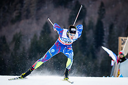 Chanavat Lucas (FRA) during Man 1.2 km Free Sprint Qualification race at FIS Cross<br /> Country World Cup Planica 2016, on January 16, 2016 at Planica,Slovenia. Photo by Ziga Zupan / Sportida