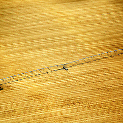 Aerial Photograph of a farm in Delaware with watering device