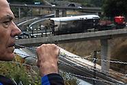 Train crash in Santiago