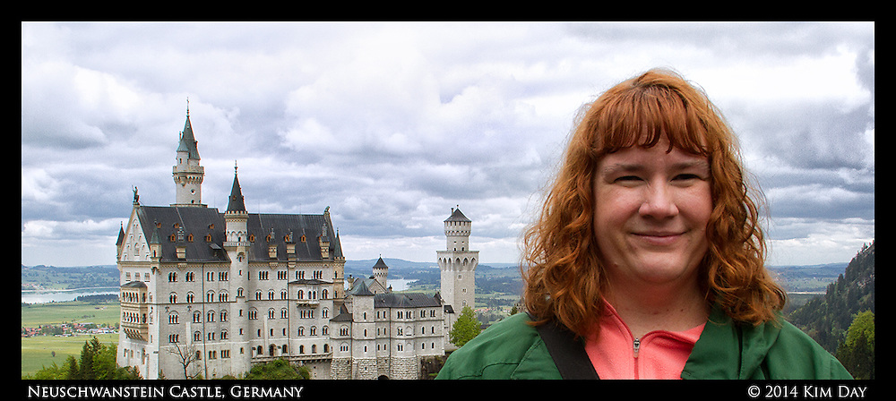 Me at Neuschwanstein Castle<br /> Germany<br /> May 17, 2014