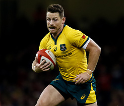 Bernard Foley of Australia<br /> <br /> Photographer Simon King/Replay Images<br /> <br /> Under Armour Series - Wales v Australia - Saturday 10th November 2018 - Principality Stadium - Cardiff<br /> <br /> World Copyright © Replay Images . All rights reserved. info@replayimages.co.uk - http://replayimages.co.uk