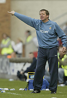 Photo: Aidan Ellis.<br /> Wigan Athletic v West Ham United. The Barclays Premiership. 28/04/2007.<br /> West Ham manager  Alan Curbishley