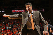 Jan. 27, 2011; Charlottesville, VA, USA; Virginia Cavaliers head coach Tony Bennett reacts to a call during the game against the Maryland Terrapins at the John Paul Jones Arena. Mandatory Credit: Andrew Shurtleff