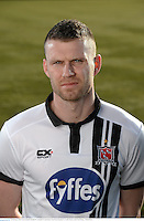 22 February 2016; Ciaran Kilduff, Dundalk FC. Dundalk FC photoshoot. Oriel Park, Dundalk, Co. Louth. Picture credit: Paul Mohan / SPORTSFILE