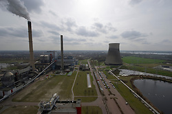 An overview of the Essent Energie power station, in Geertruidenberg, Netherlands, on Monday March 22, 2010. Essent Energie is owned by RWE AG. (Photo © Jock Fistick).