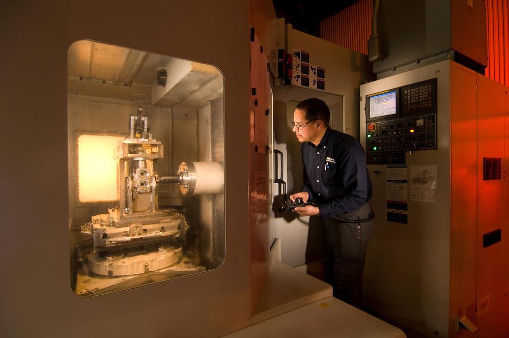 Daewoo CNC Milling Machine, Mueller/Watts Water Technology