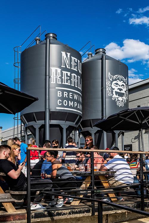 New Realm Brewery on the Beltline trail, Atlanta, Georgia, USA.