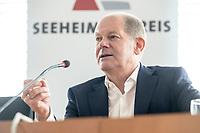 30 AUG 2020, BERLIN/GERMANY:<br /> Olaf Scholz, SPD, Budnesfinanzminister, Klausurtagung des Seeheimer Kreises der SPD, Paul-Loebe-Haus, Deutscher Bundestag<br /> IMAGE: 20200830-01-140