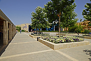 The grounds of the Israel Aquarium in Jerusalem, Israel