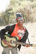 Local man in Seronga, Botswana