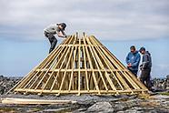 Islanders Create Beckett Set from Limestone & Timber on Inis Oírr