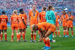 07-07-2019 FRA: Final USA - Netherlands, Lyon<br /> FIFA Women's World Cup France final match between United States of America and Netherlands at Parc Olympique Lyonnais. USA won 2-0 / Shanice van de Sanden #7 of the Netherlands