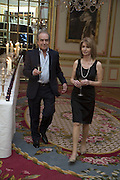 GERALD SCARFE AND JANE ASHER, The Tatler Travel Awards 2008. The Ritz, Piccadilly. London. 3 December 2007. -DO NOT ARCHIVE-© Copyright Photograph by Dafydd Jones. 248 Clapham Rd. London SW9 0PZ. Tel 0207 820 0771. www.dafjones.com.
