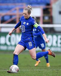 Magdalena Eriksson of Chelsea Women - Mandatory by-line: Ryan Hiscott/JMP - 14/02/2021 - FOOTBALL - Twerton Park - Bath, England - Bristol City Women v Chelsea Women - FA Womens Super League 1